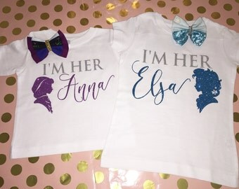 Frozen inspired Sisters Shirts