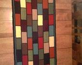 Hooked Rug Wool Floor Mat