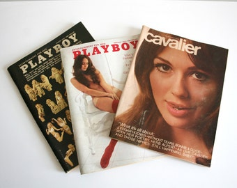 Vintage Nudie Magazine Collection