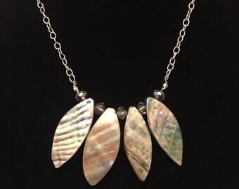 Funky petal necklace