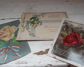 Vintage paper items
