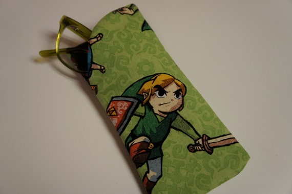 Zelda Glasses Frames : ZELDA GLASSES Case: Eyeglasses Sunglasses or Readers Legend