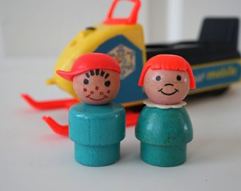 Fisher Price Little People Snowmobile