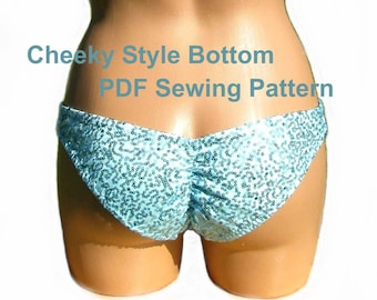 Cheeky Style Bottom (5 Sizes)