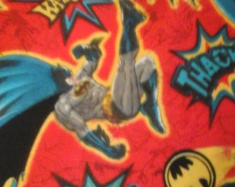 Superhero scrub top