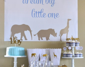 Safari Baby Shower, Safari Birthday Party, Safari Party, Zoo Birthday Party: Printable Collection or Choose your Items