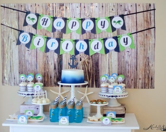 Under the Sea Birthday Party Printable Collection or Choose your Items