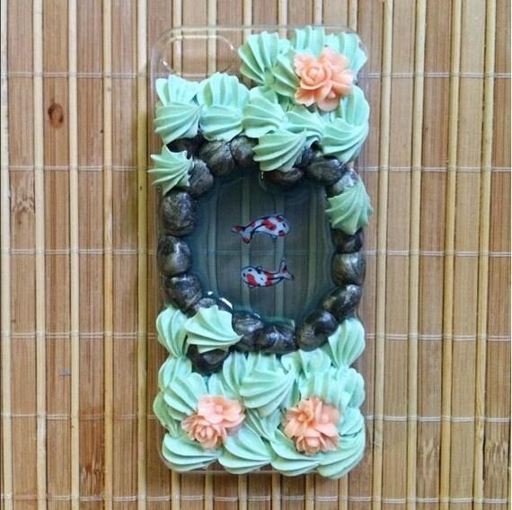 Custom koi pond phone case made to order by irisdecoden on for Custom koi ponds