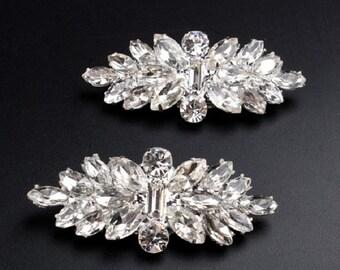 Wedding Shoe Clips, Rhinestone Shoe Clip, Wedding Accessories, Crystal Shoe Clips, Vintage Style, Bridal Shoe Clips, Bridal Accessories, C1