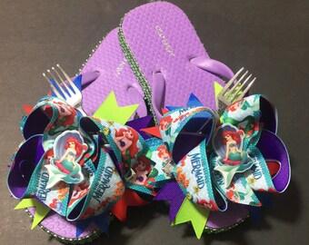 Little Mermaid Flipflops