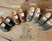 Vintage Mary Jane in SD/ MSD size in 4 colors BJD shoe pre-order