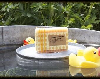 Rub-a-Dub Scrub Soap | Gardening Soap | Exfoliating Soap | Exfoliator | Vegan Soap | Cold Process Soap | Lemon Scented Soap | Best Soap