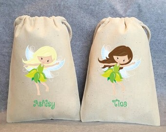 "8- Fairy, Fairies, Fairy Party, Fairy Party Favor, Fairy Birthday, Fairy party favor bags, 4""x6"""