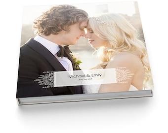 ON SALE Album Template - 12x12 Wedding Album for Pro Photographers - BOHEMIAN Lace - 1312