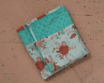 Rosey Posey Baby Blanket