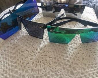 Mirrorlense futuristic glasses limited edition