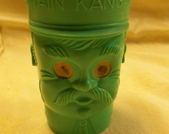 1/2 OFF!!! Vintage Robert Keeshan, Captain Kangaroo Plastic Tumbler with Eyes That Change, T