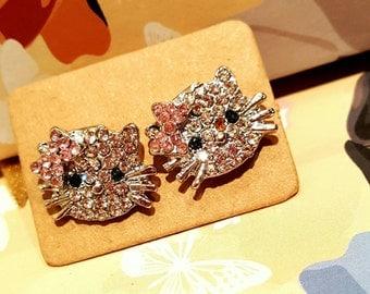 Cute!!! Kitty earrings