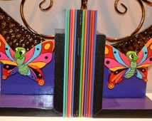 Book Buddy - Butterfly bookends (1 pair)