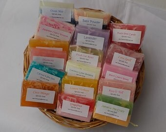 Soap Favors - Baby Shower - Bridal Shower - Soap Samples - Custom Wedding Party Favors - From My Shower to Yours