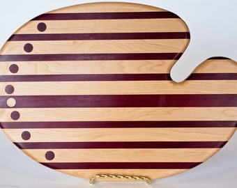 Artist Palette Cutting Board