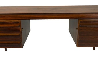 Torbjorn Afdal Rosewood Danish Modern Desk File Drawer