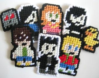Goth Lyfe 8-Bit Yarn Patches (Choose Two)