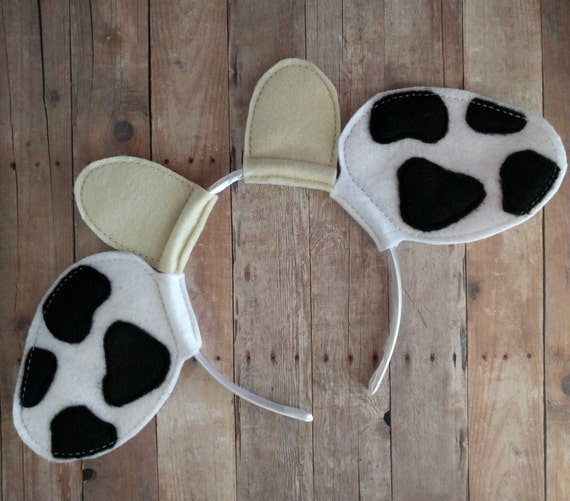 Effortless image with regard to printable cow ears