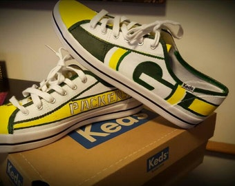 Green Bay Packers handpainted shoes