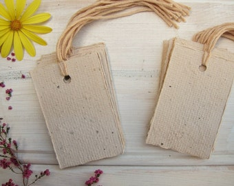 Gift tags, Handmade Recycled paper tags, Swing tags, Price tags, Product packaging, Gift wrapping, Hang tag, Blank tag, Handmade paper label