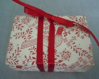 Red Bird Message Box
