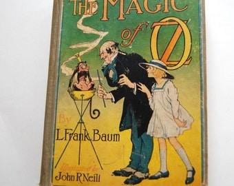 Vintage Book, The Magic of Oz