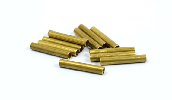 Pcs raw brass mm industrial tube spacers İnside