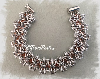 24 Chain Maille bracelet - Chainmaille bracelet