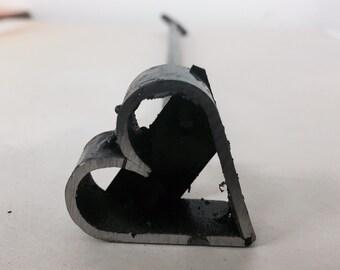 HEART shaped Metal Steel Steak Branding Iron