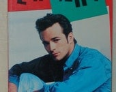 Vintage Luke Perry Unauthorized Biography!  1991!  Beverly Hills 90210!