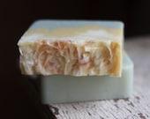 Magnolia Lily Handmade Soap, Cold Process Soap, Homemade Soap, Natural Soap