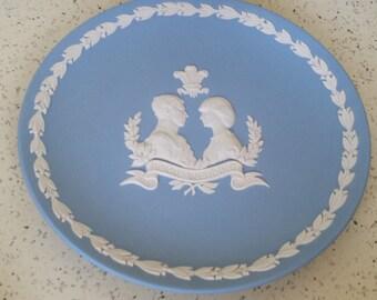 Jasperware Collector Plate Royal Wedding