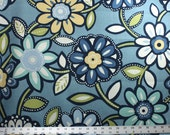 Custom Listing for Keri for Wilder Caribbean Indoor / Outdoor Richloom Solarium Fabric - Blues, Lime, Ivory, Yellow Outdoor Fabric