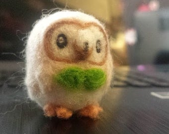 Needle Felted Rowlet