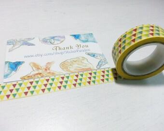 Sale : Colorful Washi / Masking Tape - 10M