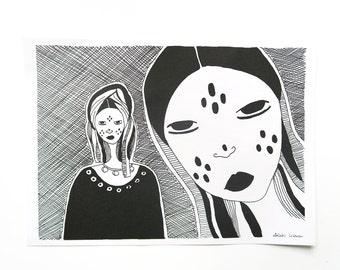 TUAREG A4 Art Print