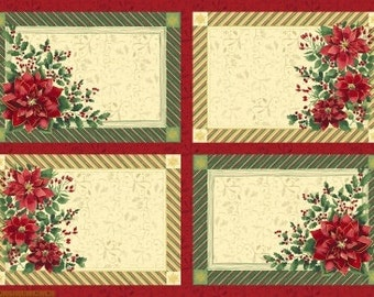 Holiday Bundle - Placemat Panel and 11 FQ's
