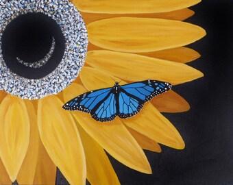 Last Glimpse of Summer Canvas Painting