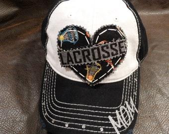 Lacrosse Mom baseball hat