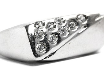 Brilliant Ring Cubic Zirconia Sterling Silver
