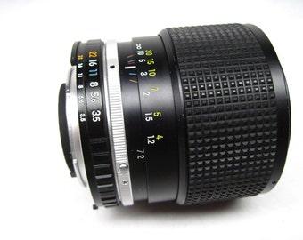 Nikon lens 1864296, Series E, AIS 36-72mm zoom lens for Nikon