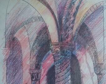 Crypt, Original Artwork