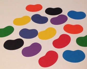 Jelly Bean Die Cuts