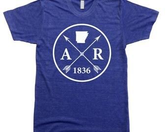 Homeland Tees Men's Arkansas Arrow T-Shirt